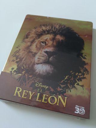 El rey León 3D steelbook blu-ray