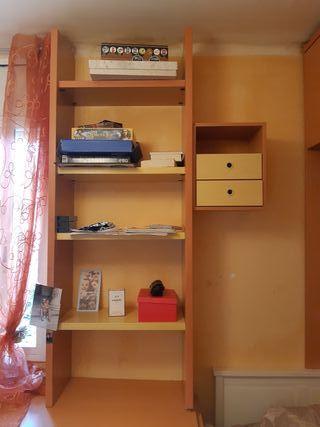 Habitacion juvenil de madera