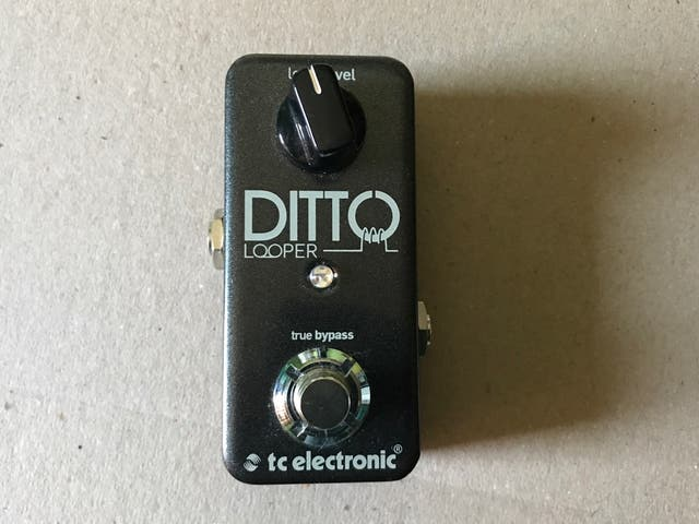 Pedal Guitarra TC Electronic Ditto Looper