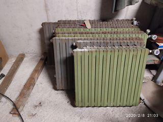 conjunto de radiadores de fundicion