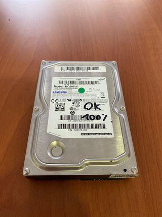 Disco Duro Samsung 500GB Perfecto Estado