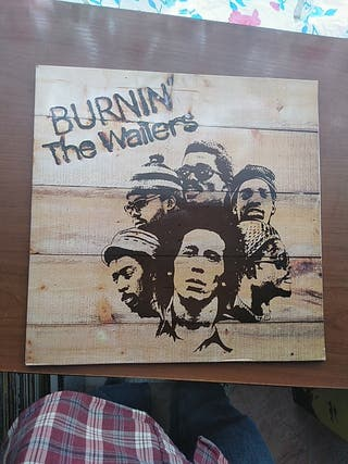 bob marley lp burning