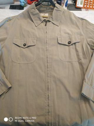 Camisa con cremallera Basics