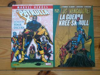 2 comics clasicotes de Marvel