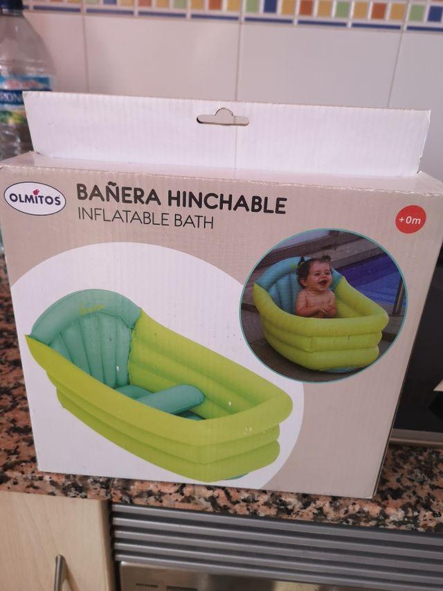 Bañera hinchable nueva