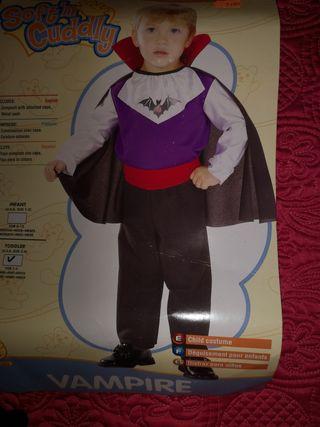 Disfraz bebé vampiro. Disfraz Halloween