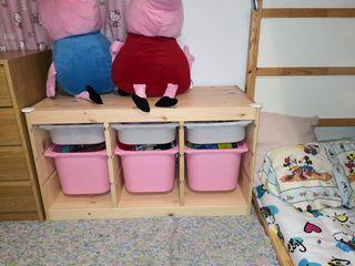 mueble organizador infantil Ikea