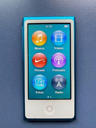 iPod nano 7. 16 gb azul