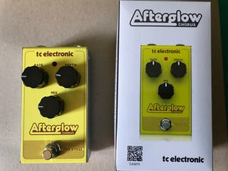 Pedal Guitarra TC Electronics Afterglow Chorus