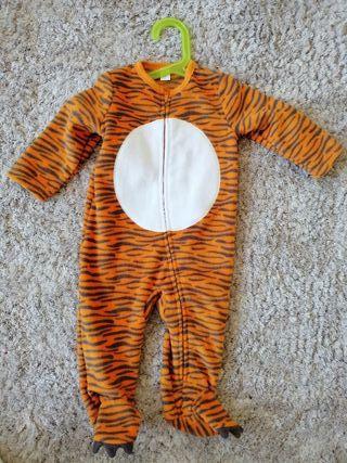 Disfraz o pijama de tigre