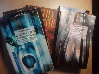 Lote 12 libros de misterio,terror,c.f.