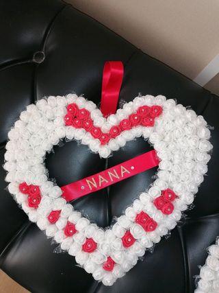 forever flower hearts