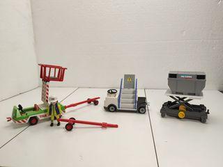 complementos para aeropuerto avión Playmobil