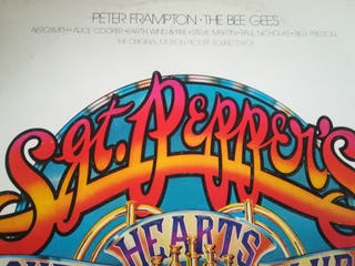 DOBLE VINILO P FRAMPTON THE BEE GEES