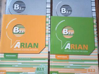 Arian Lan koadernoa B2.1 y B2.2