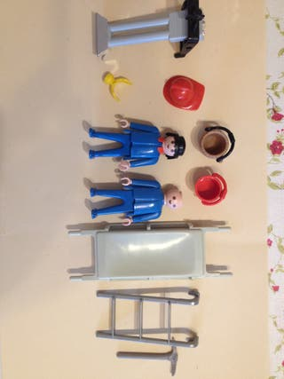 Despiece Playmobil bomberos años 80.