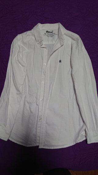 Camisa blanca para vestir, niño, talla 9 - 10 años