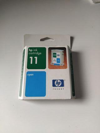 HP ink cartridge 11 cyan