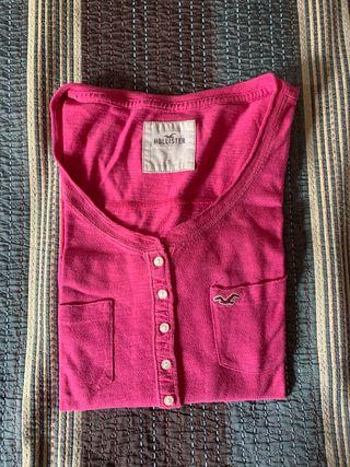 Blusa hollister rosa