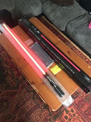 30th anniversary darth Vader's light sabre