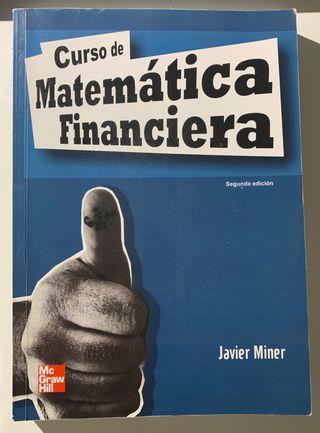 Libro Curso de Matematica Financiera(muy poco uso)
