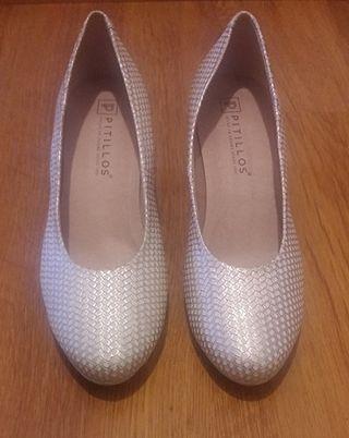 Zapatos Piel Pitillos 40