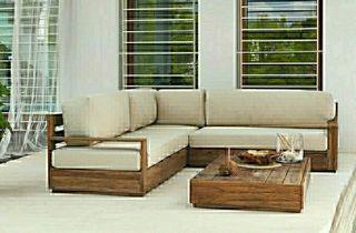 Conjunto muebles de exterior Leroy Merlin