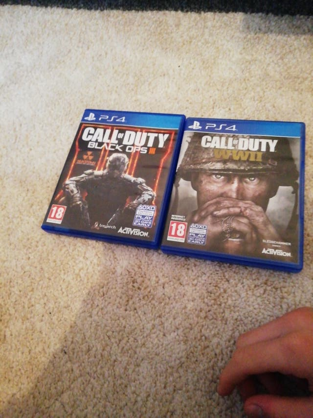 ps4 with b03 and call of duty ww2