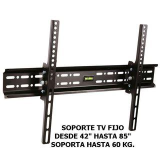 SOPORTE TV FIJO 42 A 85 PULG.