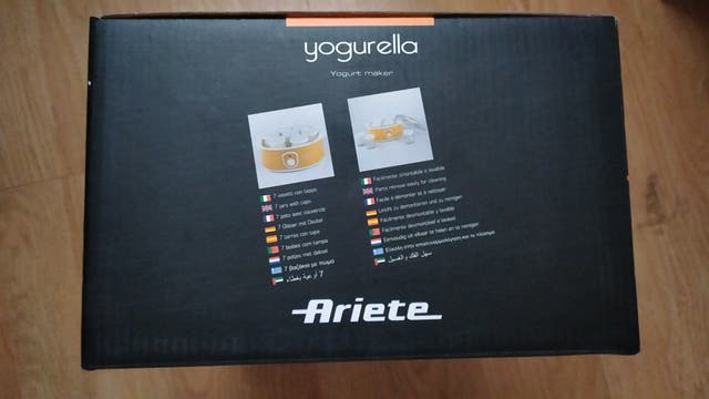 Yogurtera Ariete precintada