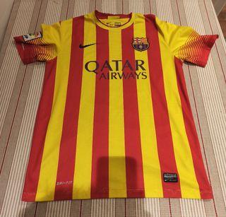 Segunda equipación Barça 2013-14