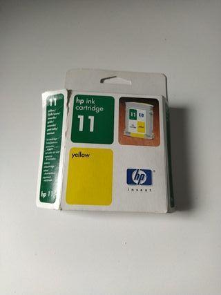 HP ink cartridge 11 yellow