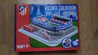 Puzzle del estadio Vicente Calderón 3D