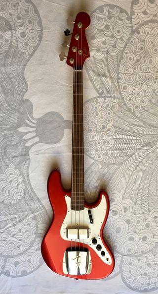 Bajo Fender Jazz Bass Custom Shop 1966 Master buil