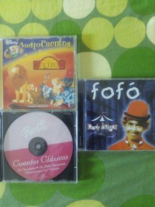 3 cds infantiles