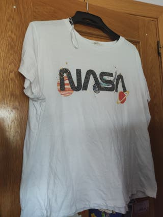 camiseta nasa H&m