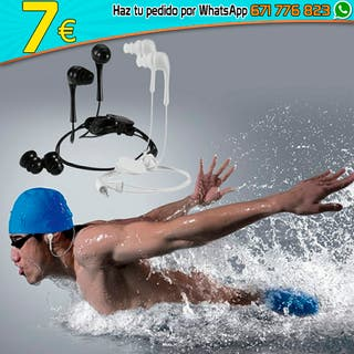 Auriculares con cable impermeables para deportes