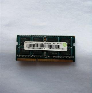 MemRAM Ramaxel 4gb para portátil