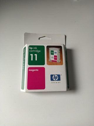HP ink cartridge 11 magenta