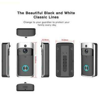 Wireless WiFi Video Doorbell Smart Phone Door Ring