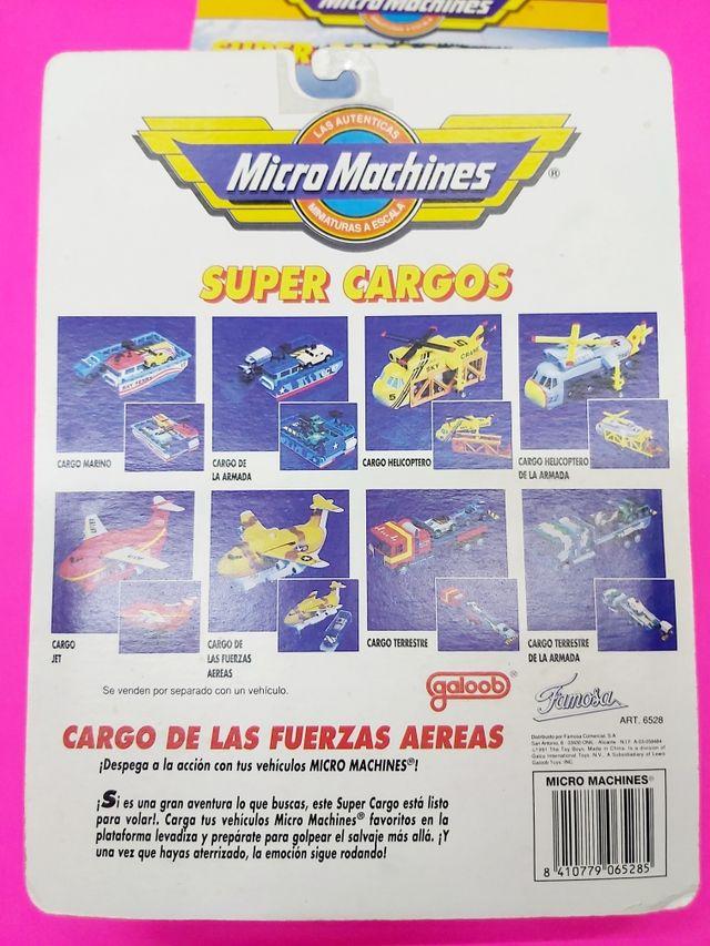 Avión Micro Machines Esquipo de Transporte. Nuevo
