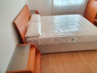cama matrimonio con canape abatible