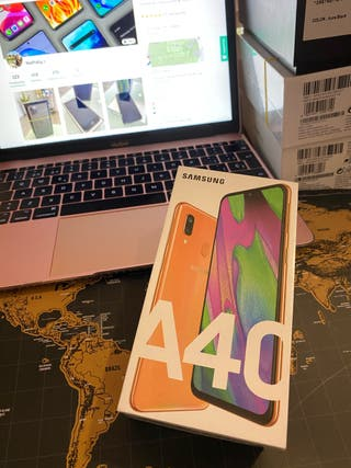 Samsung galaxy a40 Coral precintado