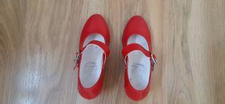 Zapatos flamenca niña num.28