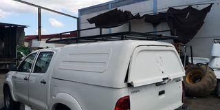Caja Capota Toyota Hilux