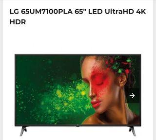 LG UHD tv 65 pulgadas