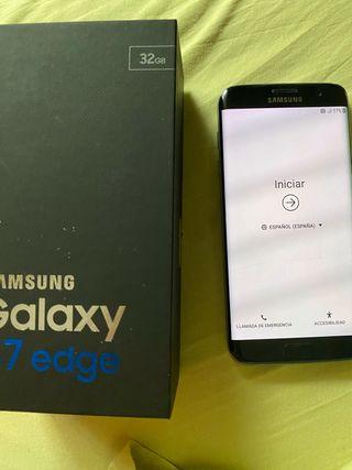 Samsung s7 edge pantalla rajada