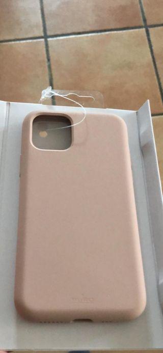 Funda rosa iPhone 11 pro