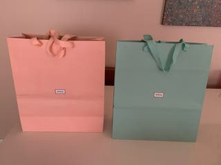 Bolsas grandes de papel TOUS