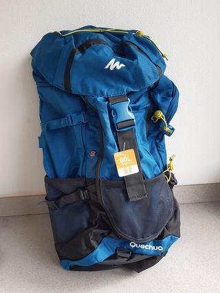 Mochila de montaña y trekking 60 litros